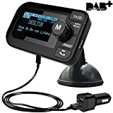 FirstE Auto DAB+ Radio Adapter, 2,3' LCD Tragbares...