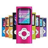 Mymahdi MP3 / MP4 beweglicher Spieler, Rosa mit...