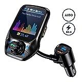 FM Transmitter Auto Bluetooth, OMORC Bluetooth FM...