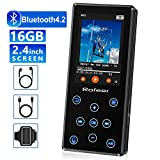 MP3 Player, 16GB MP3 Player mit Bluetooth 4.2 HiFi...